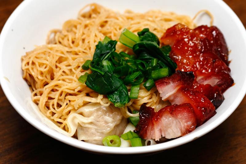 Char Siew Wantan Noodle