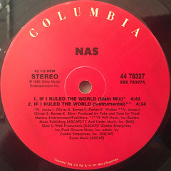 NAS:IF I RULED THE WORLD(LABEL SIDE-B)
