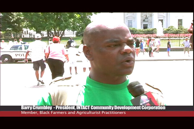 Brother Barry interviewed after the African American Leadership Summit @ FEMA in WAshington DC 2011
