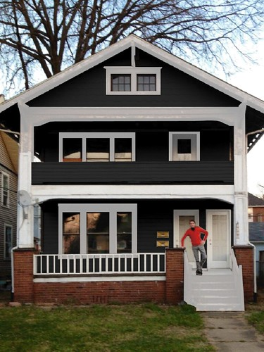 Paint Trim On Grey House