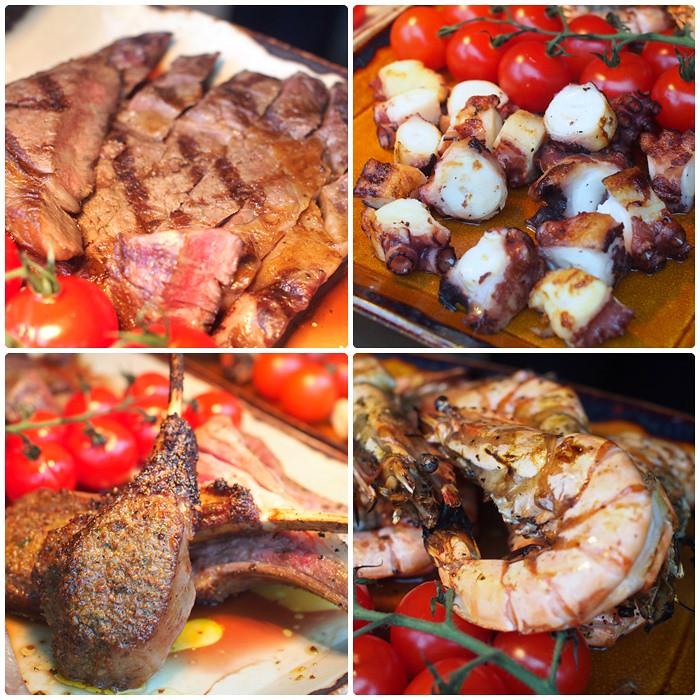 Josper oven grilled meats