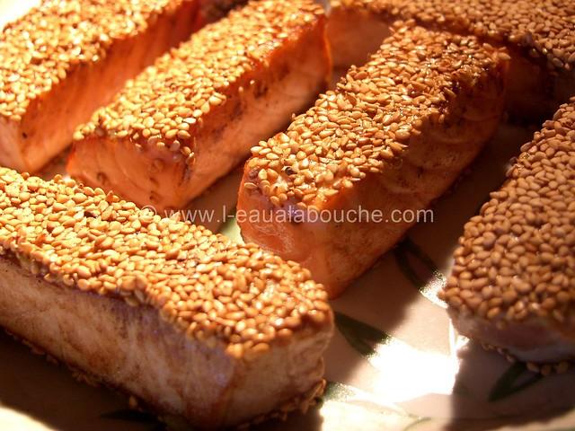 Tataki de Thon et de Saumon © Ana Luthi  Tous droits réservés 2