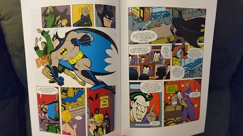Batman aventures - inside