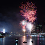 Brisbane NYE fireworks