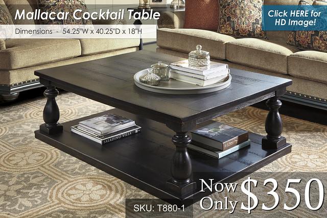 Mallacar Cocktail Table