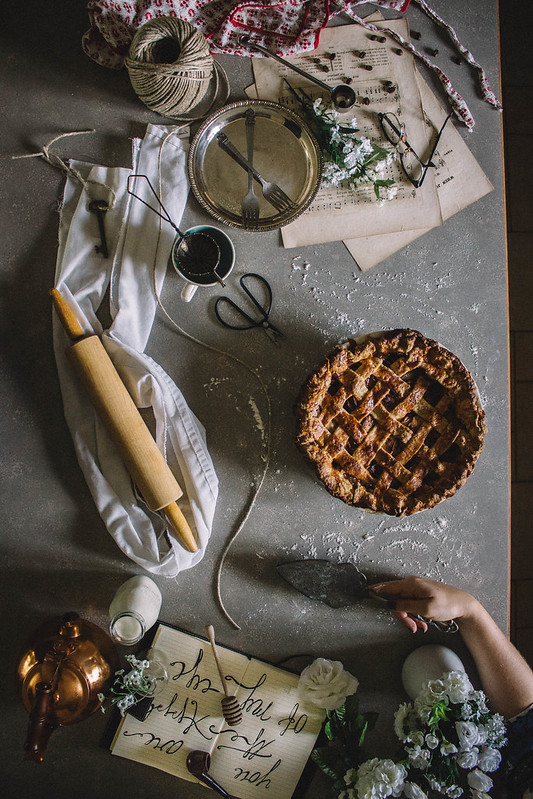 Salted Caramel & Whiskey Apple Pie // TermiNatetor Kitchen