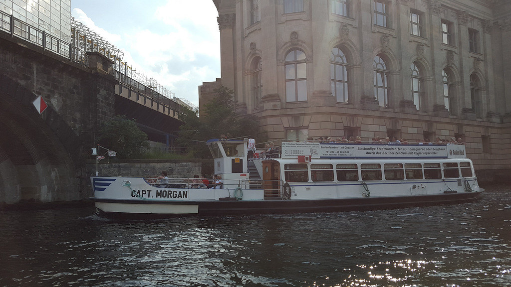Boat Trip on The Spree