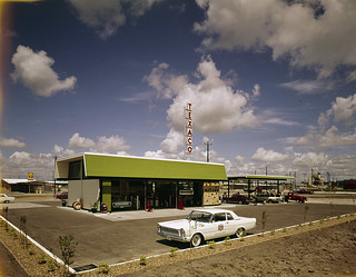 Texaco Service Station | by SMU Central University Libraries