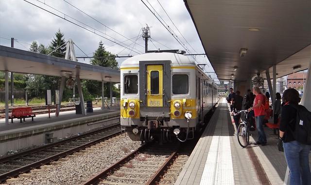 Station Gare Welkenraedt NMBS Klassiek Motorstel 655