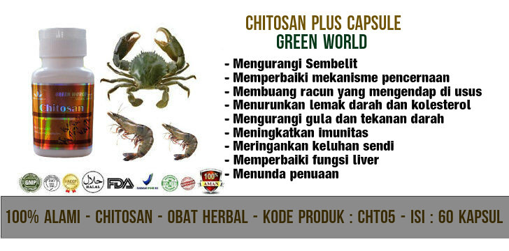 Chitosan Plus Capsule Green World