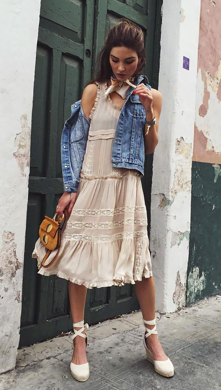relaxed summer outfit street style fashion2