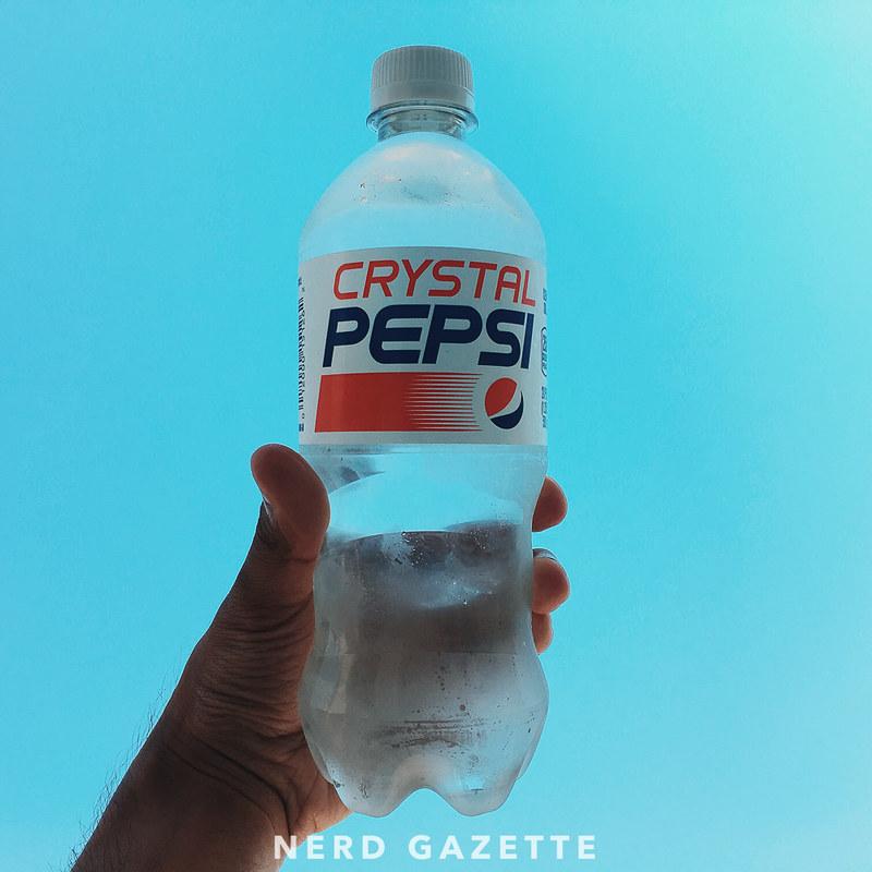Crystal Pepsi   VSCO