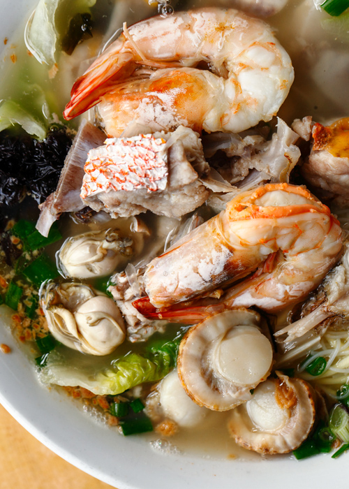 B & Best Seafood Noodle with Prawns