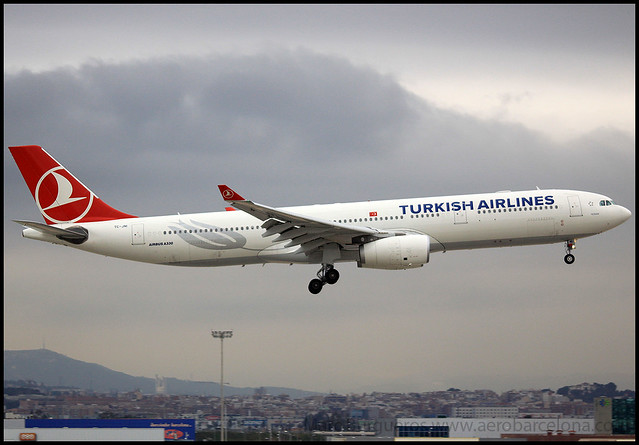 TURKISH A330 TC-JNI