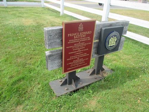 Plaque #pei #charlottetown #victoriapark #princeedwardbattery #latergram