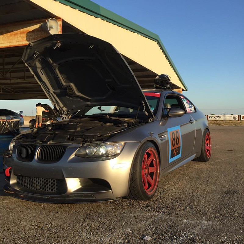 Happiness eludes those who seek it. True happiness is the by product of the journey. #abrhouston #bmw #m3 #hankooktires #te37rt #tracknight #scca #natsukashigarage