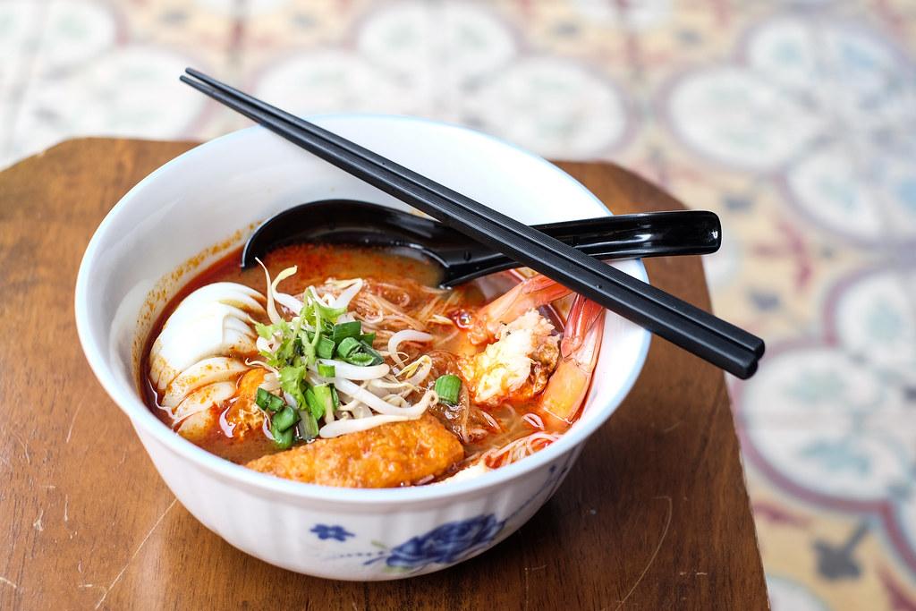 Chong Wen Ge cafe's Mee Siam