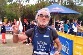Noicattaro. Andrea Latrofa campione di Italia di triathlon front