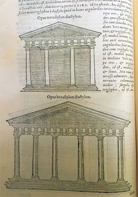 Bernard Salomon woodcut from Vitruvius, De Architectura (Paris 1586)