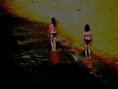 2 en la playa