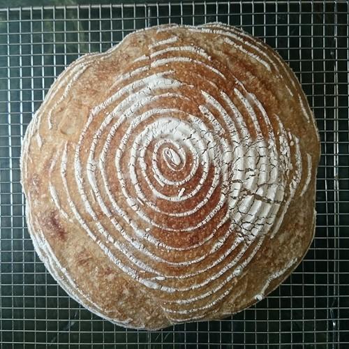 Classic Sourdough Bread (Pain au Levain)