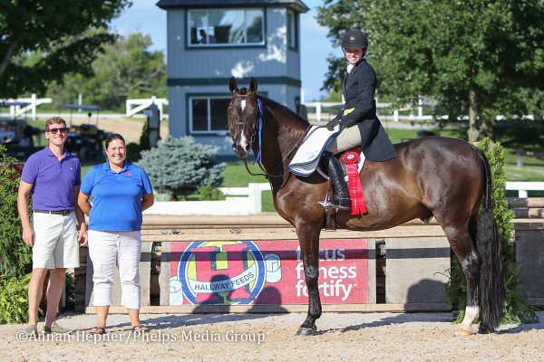 Molly Sewell Dominates $5,000 Hallway Feeds USHJA Hunter Derby at Kentucky Summer Classic Horse Show