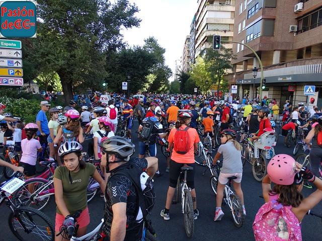 Cáceres día de la Bicicleta 2016