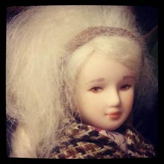 """OOAK doll from ArtCat - latest addition to my #collection, for #365days project, 246/365. Очень """"живая"""" - хочется фотографировать на пленэре."""