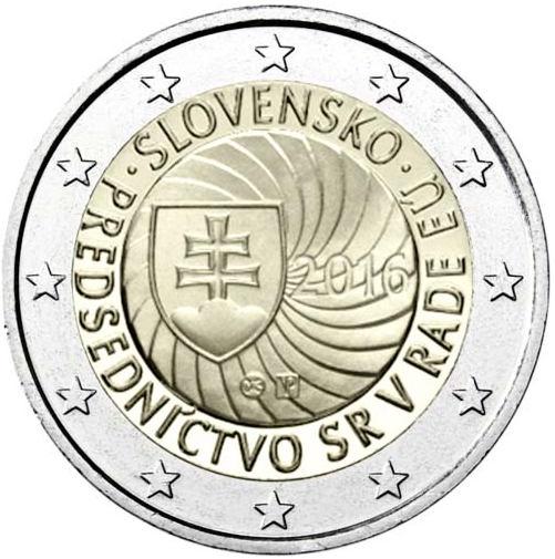 5c47bbd77 2 Euro Slovensko 2016, Predsedníctvo v rade EÚ [mSLOVAKIA02e-2016 ...