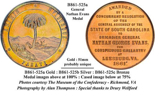 Genral Nathan Evans medal