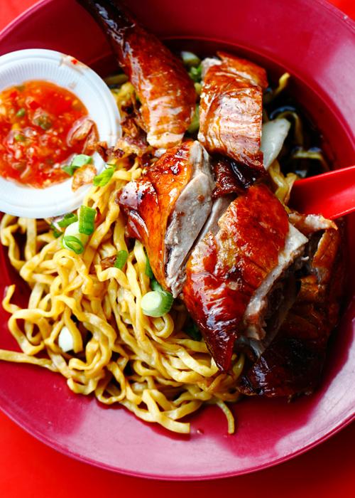 Roast Duck Hakka Noodle