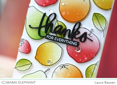 Mama Elephant-Fresh Fruits