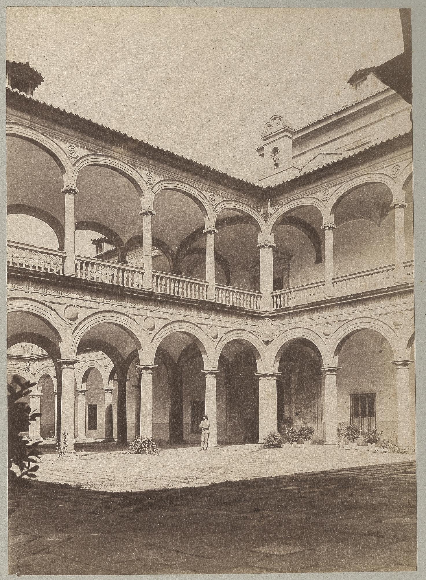 Hospital Tavera en 1886 © Archives départementales de l'Aude