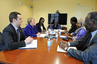 UN Women Executive Director Michelle Bachelet meets with Minister of Guinea | by UN Women Gallery