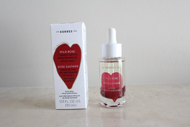 Korres Wild Rose Vitamin C Skin Brightening Oil review