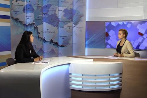Татьяна Гусарова - интервью ТРК «Губерния-33»