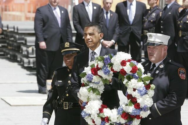 Obama at Ground Zero, 2011