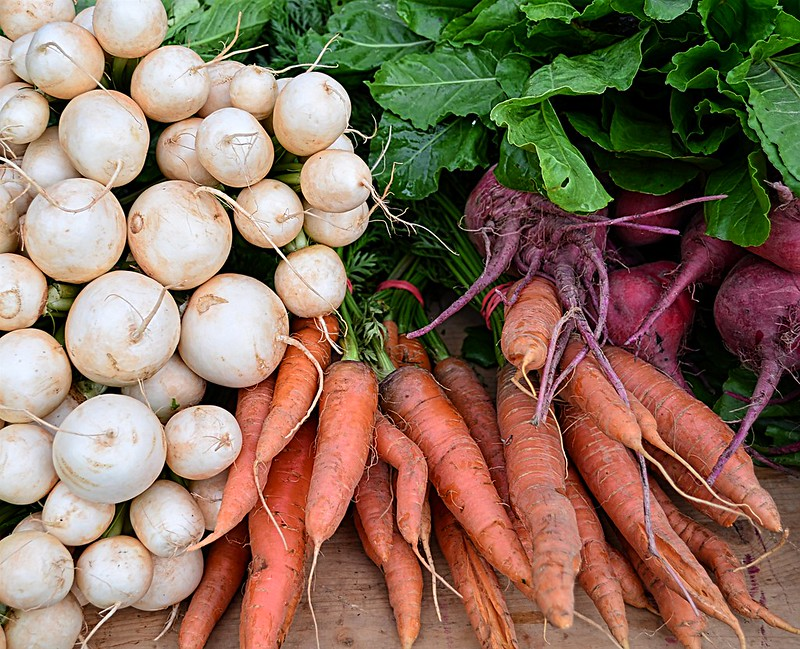 Turnips, Carrots, and Beets