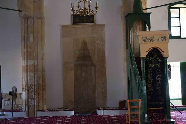 Interior Of Hala Sultan Tekke