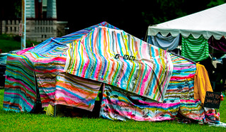 Temporal Cities 2nd Annual Blanket Fort Festival (with Bombara and Obviously Offbeat) at Benton Park 7/30/16
