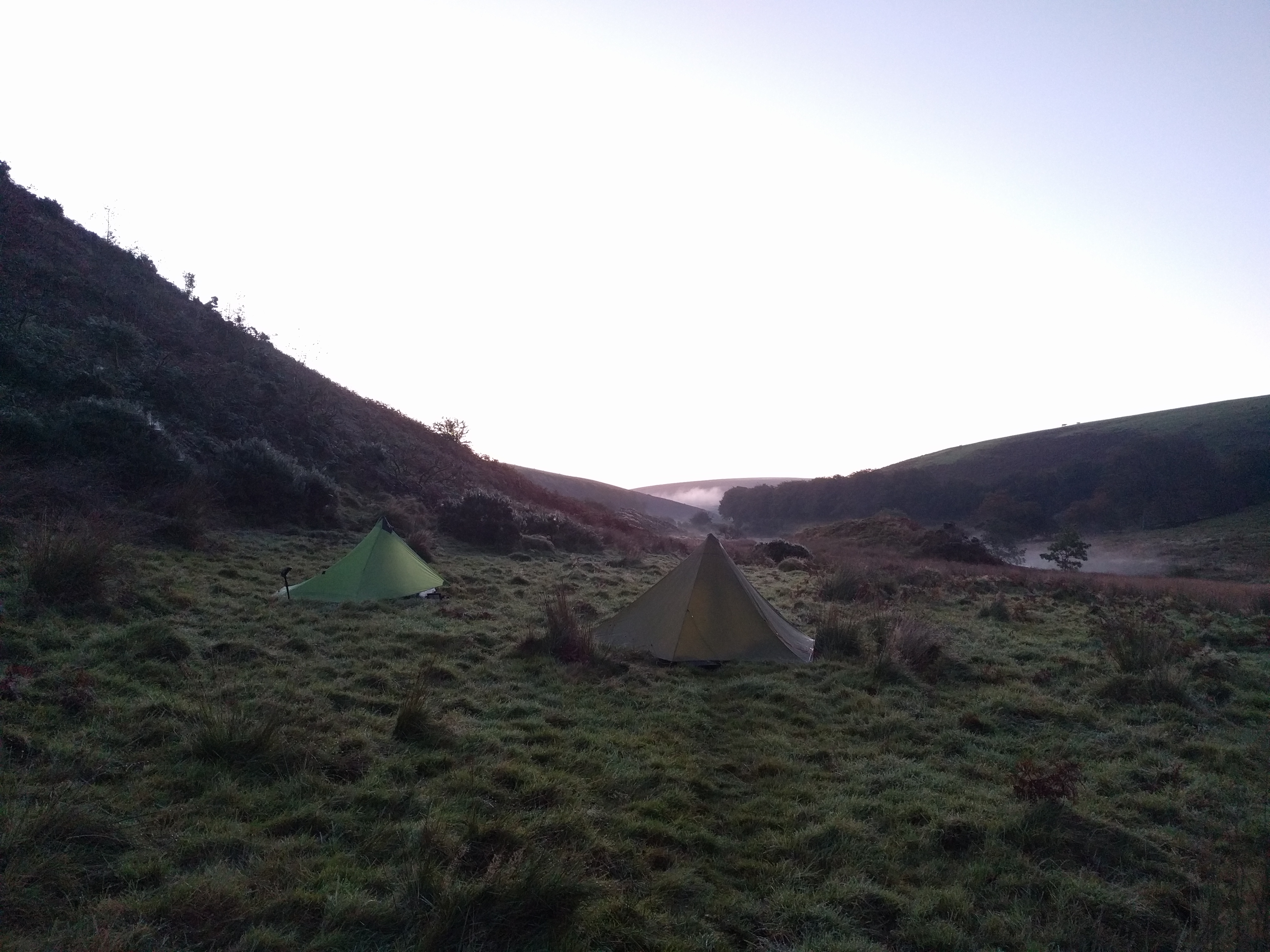 Morning at Cow Castle #sh #twomoorsway #DevonC2C