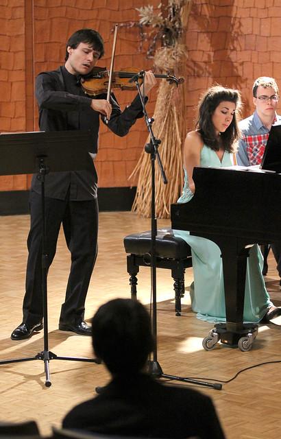 """ALEJANDRO BUSTAMANTE, VIOLÍN & PATRICIA ARAUZO, PIANO - 29º FESTIVAL DE MÚSICA ESPAÑOLA - AUDITORIO """"ÁNGEL BARJA"""" 29.09.16"""