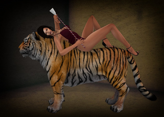 Tamed, from Something Erotic-props n poses