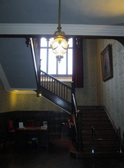 Kylemore Abbey Staircase