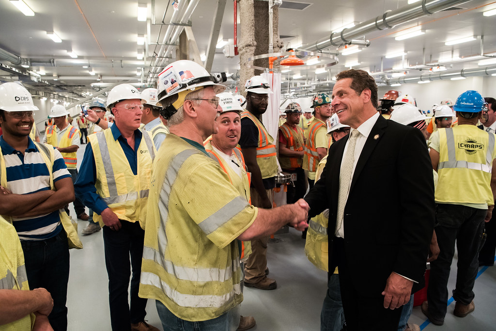 Governor Cuomo Tours RiverBend Facility