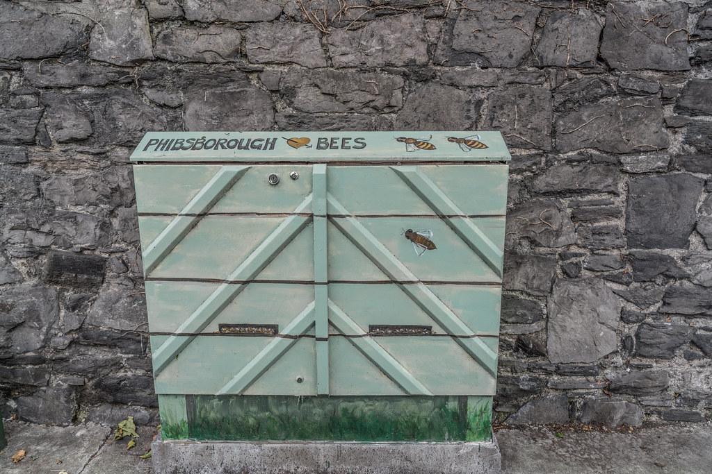 STREET ART - PAINT A UTILITY CABINET IN DUBLIN [PHIBSBORO]-121608