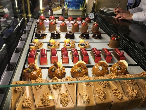 rows of pastries and cakes. Cafe Central, Herrengasse 14, 1010 Wien, Vienna, Austria