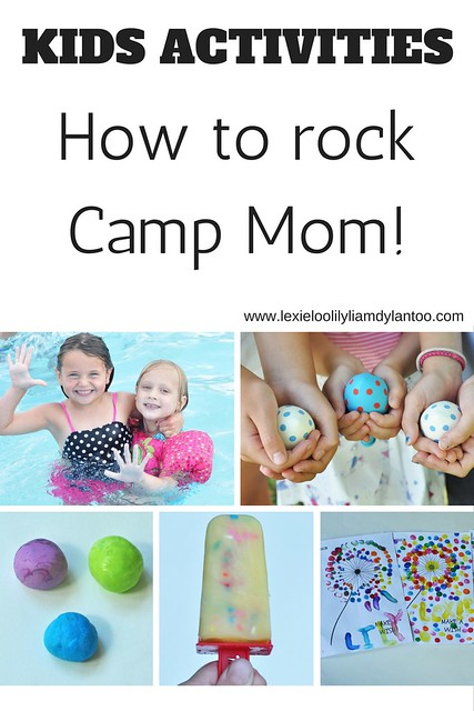 Kids Activities - How To Rock Camp Mom