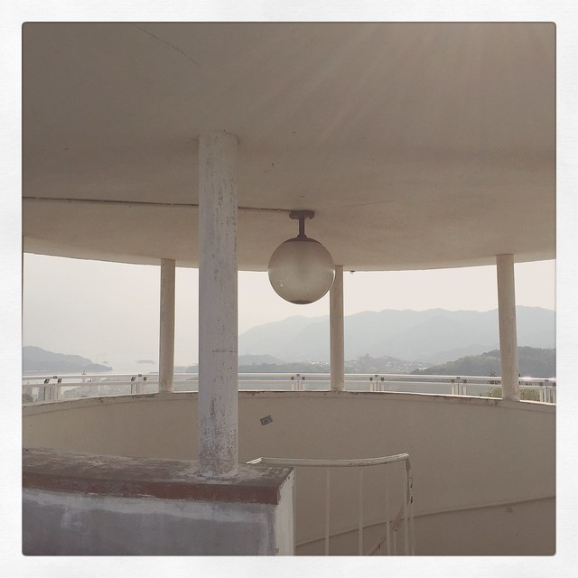 千光寺山の展望台