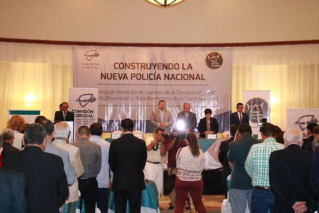 Comisión Depuradora rinde cuentas sobre avances en la Depuración